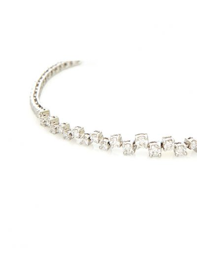Charme Diamond Bracelet (1.28ct. tw.) in 18K White Gold