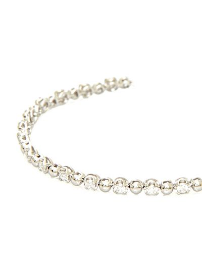 Classic Diamond Bracelet (1.20ct. tw.) in 18K White Gold