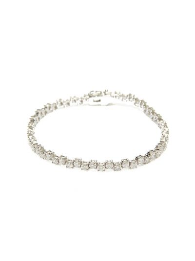 Charme Diamond Bracelet (4.72ct. tw.) in 18K White Gold