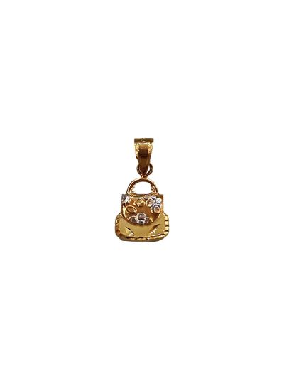 BabyPrecious Pendant in 18K Yellow Gold