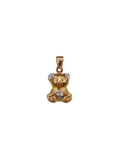 BabyBear Pendant in 18K Yellow Gold