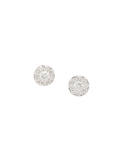 Wedding Diamond Earrings (1.07ct. tw.) in 18K White Gold
