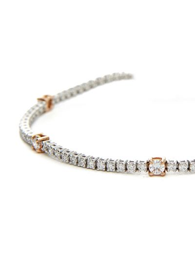 Rose Tennis Bracelet (2.10ct. tw.) in 18K White Gold