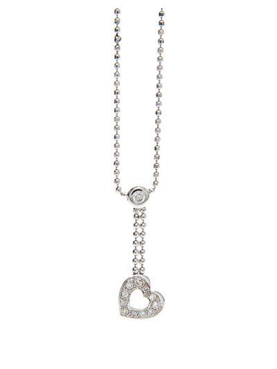 Ensemble Diamond Necklace (0.20ct. tw.) in 18K Gold