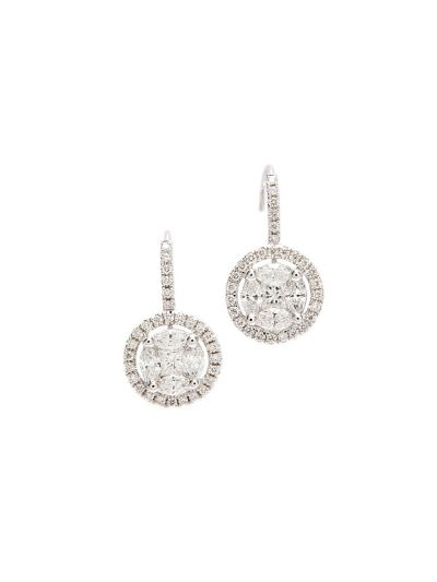My Wedding Diamond Earrings (1.42ct. tw.) in 18K White Gold
