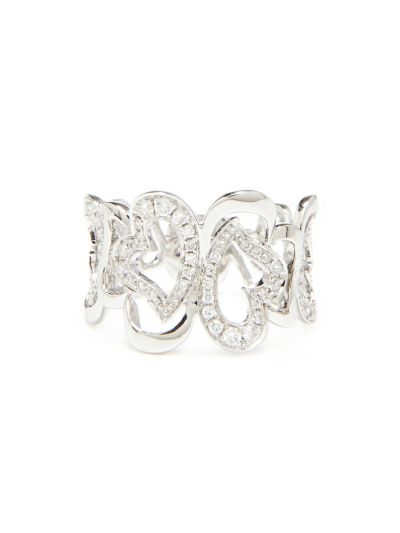 Romeo Diamond Ring (0.39ct. tw.) in 18K White Gold