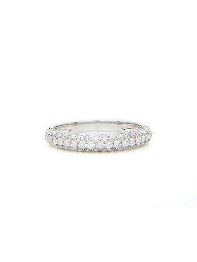 3.2mm Grand Pave Diamond Eternity Band (0.70ct. tw.) in 18K White Gold
