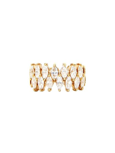 Marquise Diamond Eternity Ring (2.24 ct. tw.) in 18K Yellow Gold