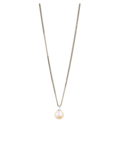 Japanese Pearl Pendant (7 mm) in 18K White Gold